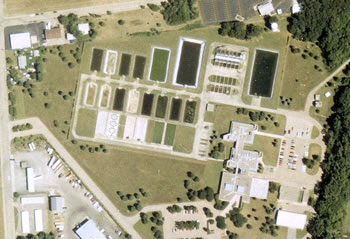 aerial view of the UMESC (photo)