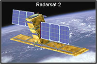 A simulated image of the Radarsat-2 satellite. (MacDonald, Dettwiler and Associates Ltd.